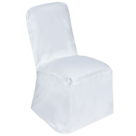 Polyester Square Back Chivari CHAIR COVERS Wedding Party