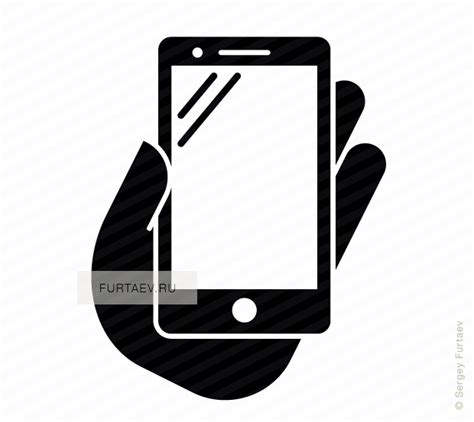 mobile phone icon vector png white phablet in vector icon