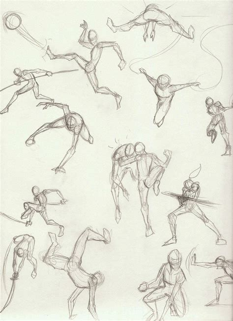 pin  cosmo  drawing fighting poses poses action