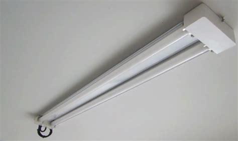 garage led shop light fixture replaces fluorescent