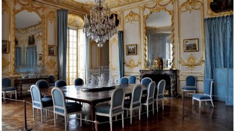 Vintage Style Of Versaille French Dining Room Designs