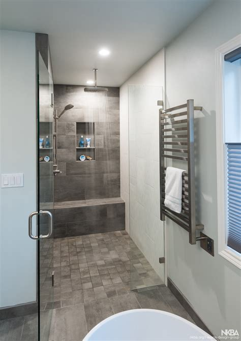 stunning walk  shower nkba
