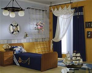 Nautical theme for boys bedrooms room design ideas for Nautical bedroom ideas