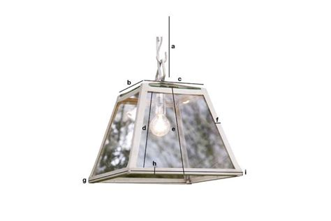 Serre Weight by 26cm Serre Suspension Light Very Luminous Charming Pib
