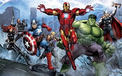 Avengers Iron Thor Captain America Hulk Marvel