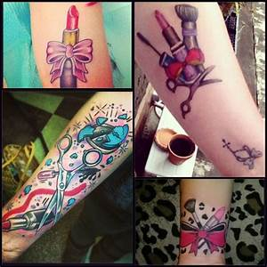 The gallery for --> Makeup Brush Tattoo Designs