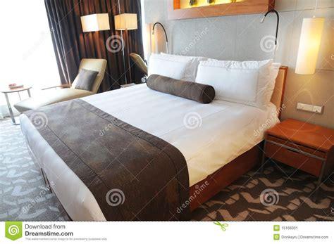 luxury hotel room  king size bed stock image image