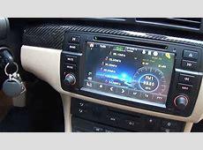 BMW E46 Multimedia upgrade head unit, multimédiás