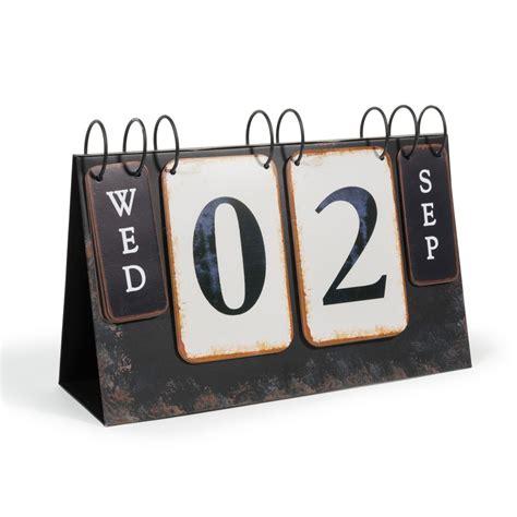 calendrier d 233 co en m 233 tal 23 x 34 cm foodtruck maisons du
