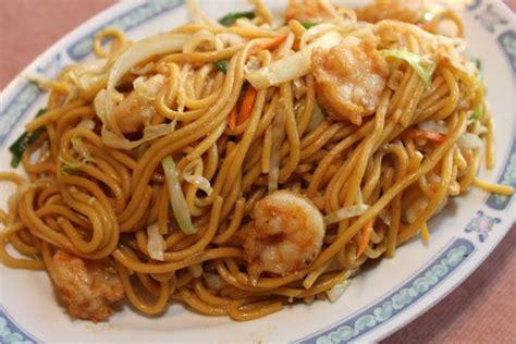 shrimp chow mein fun