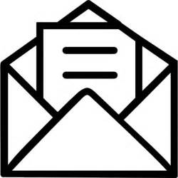 Open Envelope with Letter Background Free