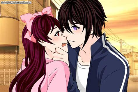 anime kiss in lazari x phantomonom kiss anime creation by