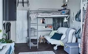 Ikea Lit En Hauteur : lits mezzanines et lits superpos s ikea ~ Teatrodelosmanantiales.com Idées de Décoration