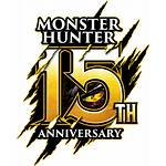 Hunter Monster 15th Anniversary Website Icons Official