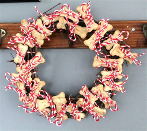diy dog advent bone wreath petdiyscom