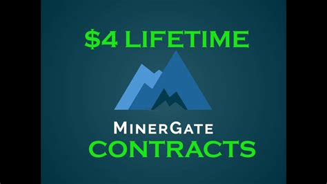 lifetime bitcoin mining contract 4 lifetime bitcoin cloud mining contracts at minergate