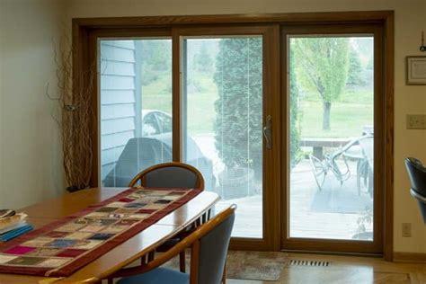 patio doors panel sliding door weather tight entry fire