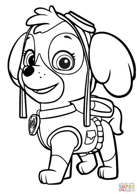 paw patrol personaggi da stampare  colorare scarica