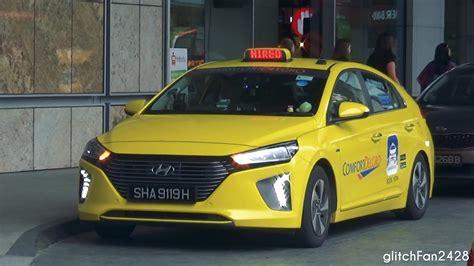 [comfortdelgro] Brand New 2017 Hyundai Ioniq Taxi Spotted