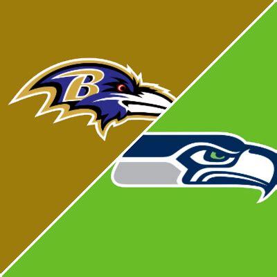 ravens  seahawks game summary october   espn