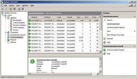 wsus    errors  small business server