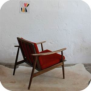 Meuble Scandinave Vintage : c668 mobilier vintage fauteuil scandinave vintage d atelier du petit parc ~ Teatrodelosmanantiales.com Idées de Décoration