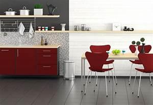 Carrelage Au Sol : carrelage au sol d 39 une cuisine tous les conseils pour le ~ Nature-et-papiers.com Idées de Décoration