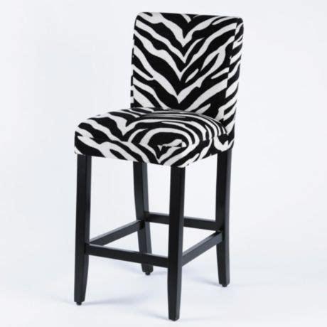 Zebra Bar Stools Product Details Zebra Parsons Bar Stool For The Home