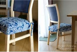 Dining Chair Cushions With Skirt by Make Happy Dining Chair Slipcovers