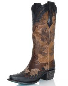 womens boots black 39 s maggie cowboy boots black
