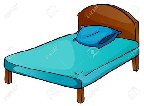 Pencil And In Color Bed Clipart