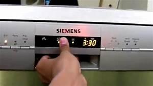 Siemens Dishwasher Sn26l800in  29 First Look
