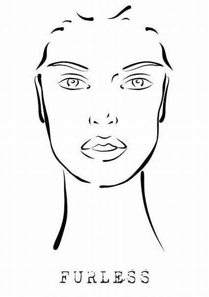 Face Makeup Template Templates Designs Hair Charts