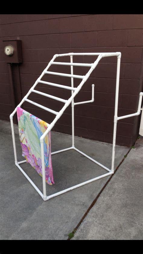 pvc quilt rack woodworking projects plans