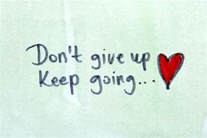 6 Reasons Why We Can't Give Up