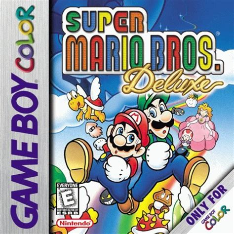 gameboy color rom mario bros deluxe usa europe rom