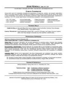 health resume 2015 health care resume sle resume cover letter template
