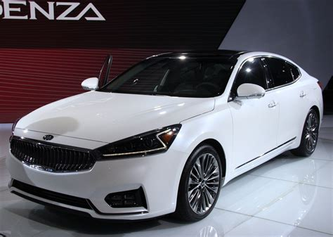 2018 Kia Cadenza View Specs And Changes