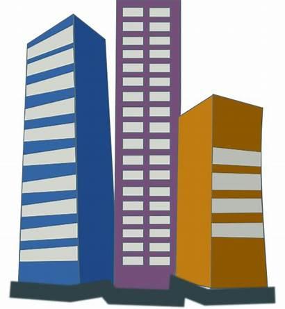 Buildings Rise Estate Clip Clipart Hi Clker