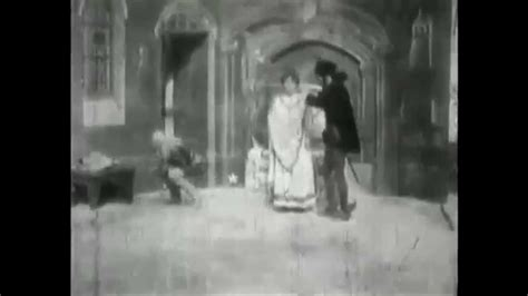 george melies primera pelicula the haunted castle 1896 george melies silent film youtube