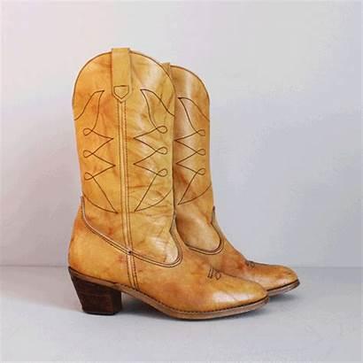 Fringe Suede Boots Western Zealous Eagle Leather