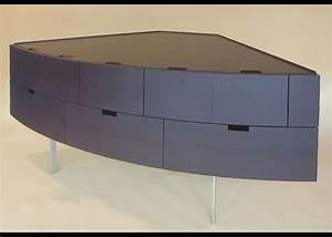 Commode D Angle : meubles par patrick sarran designer mobilier toulouse ~ Teatrodelosmanantiales.com Idées de Décoration