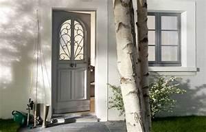 Le prix des portes d39entree le dossier construire facile for Porte d entrée pvc avec accessoire salle de bain rose pale