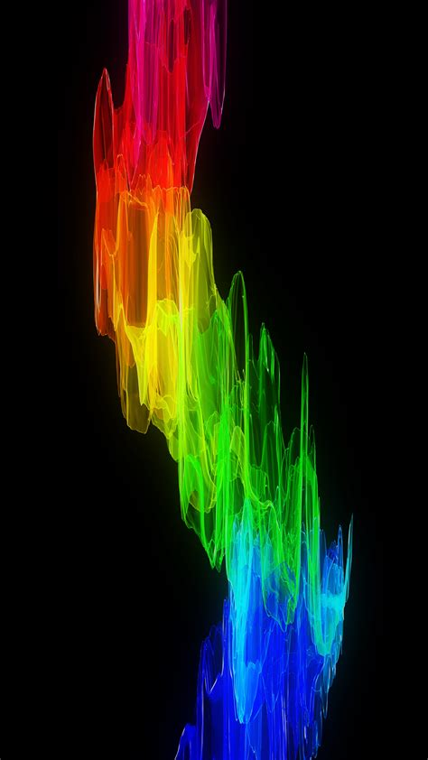 Ultra HD Color Wave Wallpaper For Your Mobile Phone ...0063