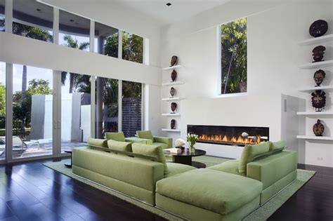 green sofa living room green sofa contemporary living room miami by toby