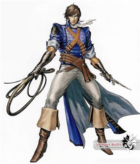 Castlevania Richter Belmont Game Characters And Anime