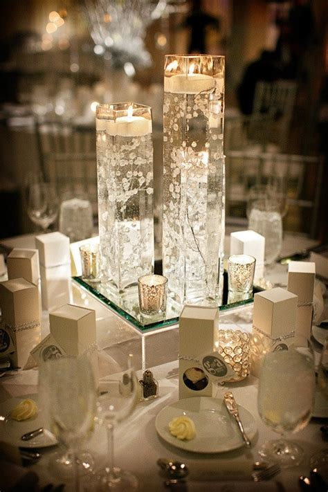 Decorating Ideas For Table Centrepiece by 40 Stunning Winter Wedding Centerpiece Ideas Deer Pearl