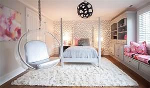 Jugendzimmer Mädchen Ideen : jugendzimmer wei grau rosa akzente bubble h ngesessel fenstersitzbank girl bedroom ideas ~ Indierocktalk.com Haus und Dekorationen