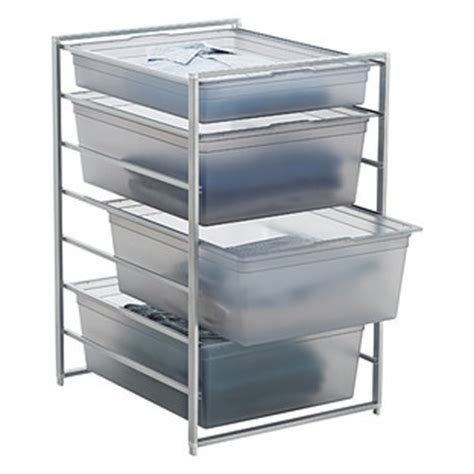Drawer Containers by Platinum Elfa Solid Drawer Start A Stack The Container Store