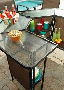 patio furniture bar set